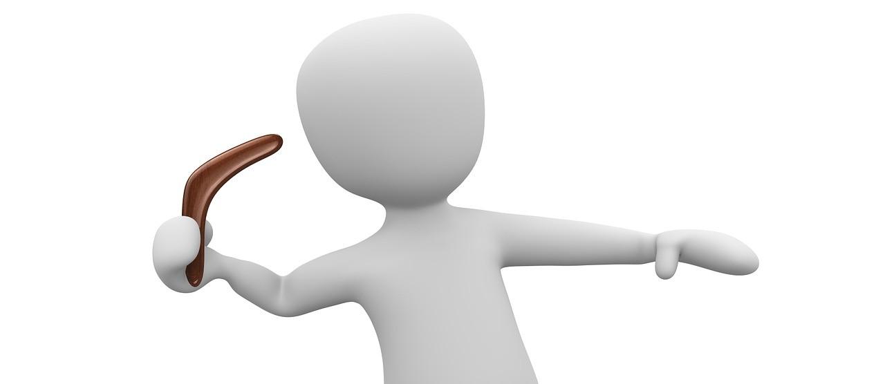 Bumerang werfen für Anfänger schritt für schritt Anleitung